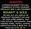 WANTED CATERING EQUIPMENT FOR CASH
