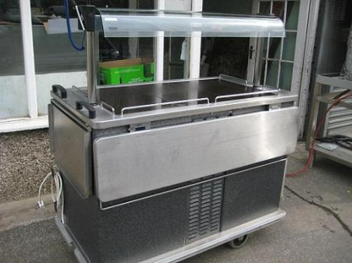 Moffet hot and cold hostess trolley/ food server.