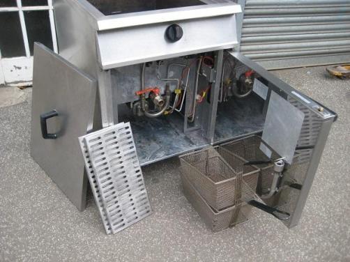 Falcon Dominator G2860 gas fryer LPG (propane).