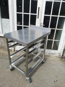 Oven stand /Truly for commercial catering kitchen.