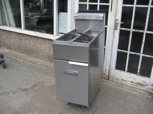 Imperial CIFS-2525 Twin Tank very fast Gas Fryer.