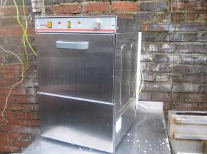 Commercial glass washer FAGOR LVC-21 40x40 basket