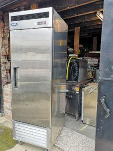 Commercial Stainless steel freezer.