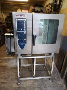 Rational CM 6 grid Combi Oven convection electric 3 phase Refurbished.